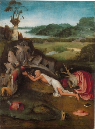 St. Jerome at Prayer by Hieronymus Bosch