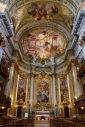 Church interior, Rome Italy