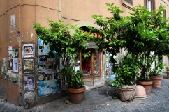 The streets of Rome, Italy