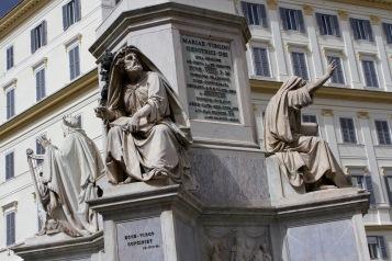 Colonna della Immacolata, Piazza Mignanelli, Rome, Italy