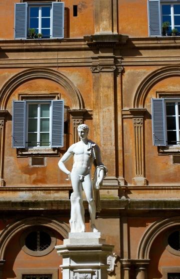Statue, Rome, Italy