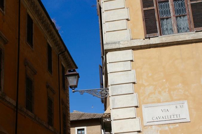 Jewish district, Rome, Italy