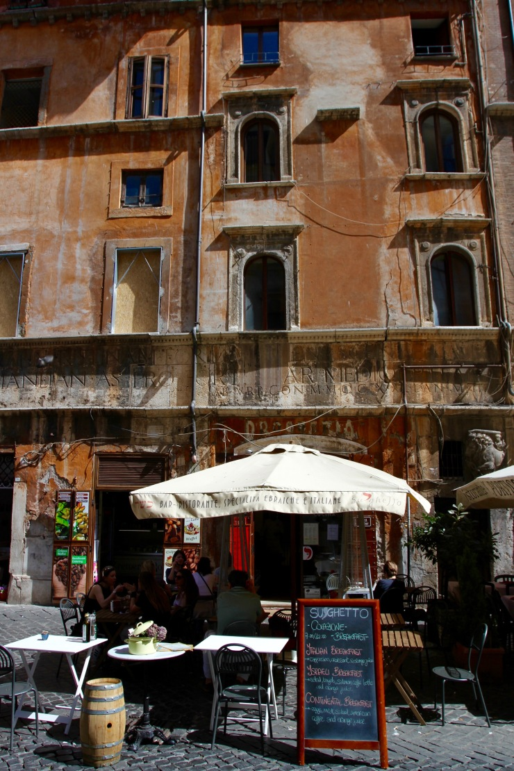 Jewish district, Rome, Italy
