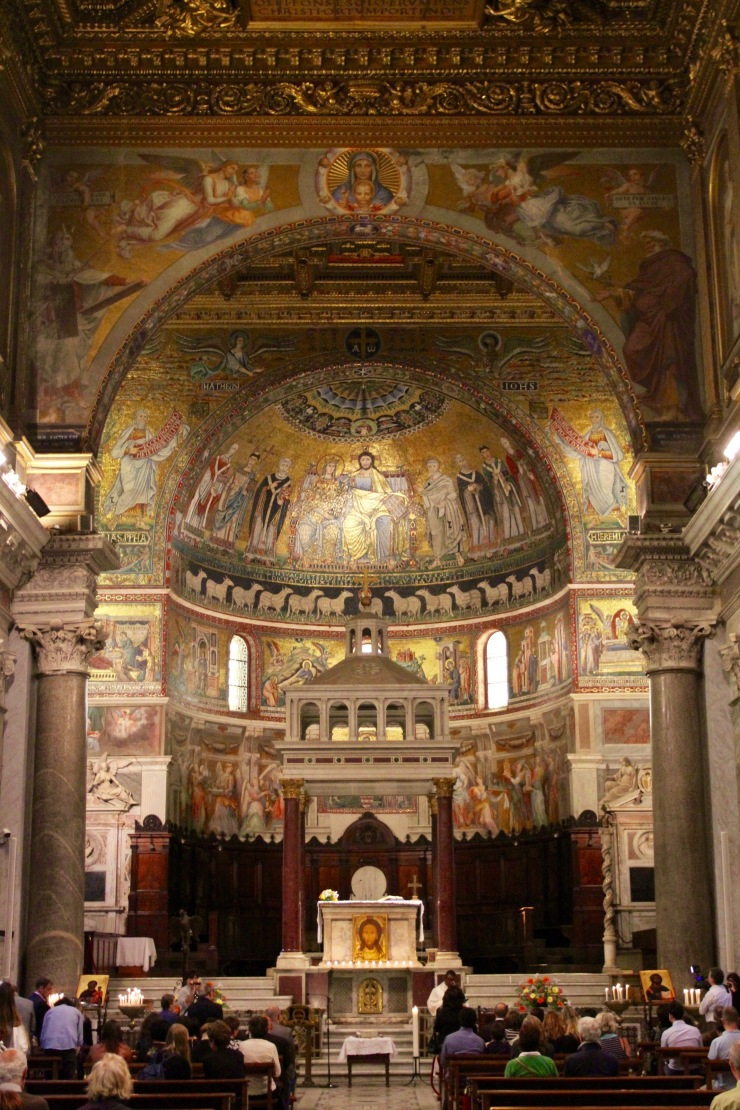 Basilica di Santa Maria, Trastevere, Rome, Italy