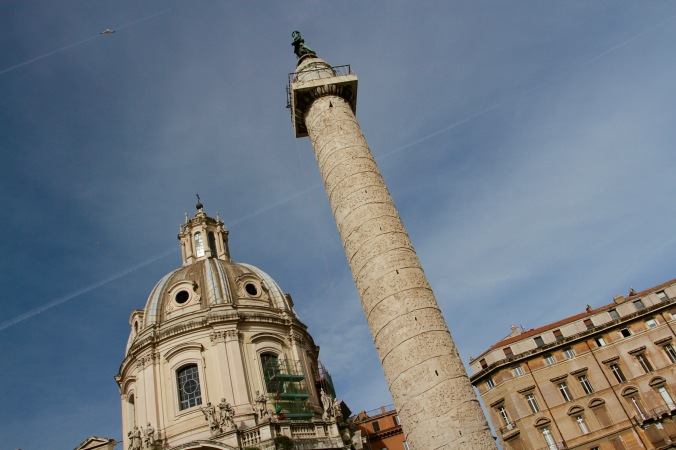 Colonna Traiana, Rome, Italy