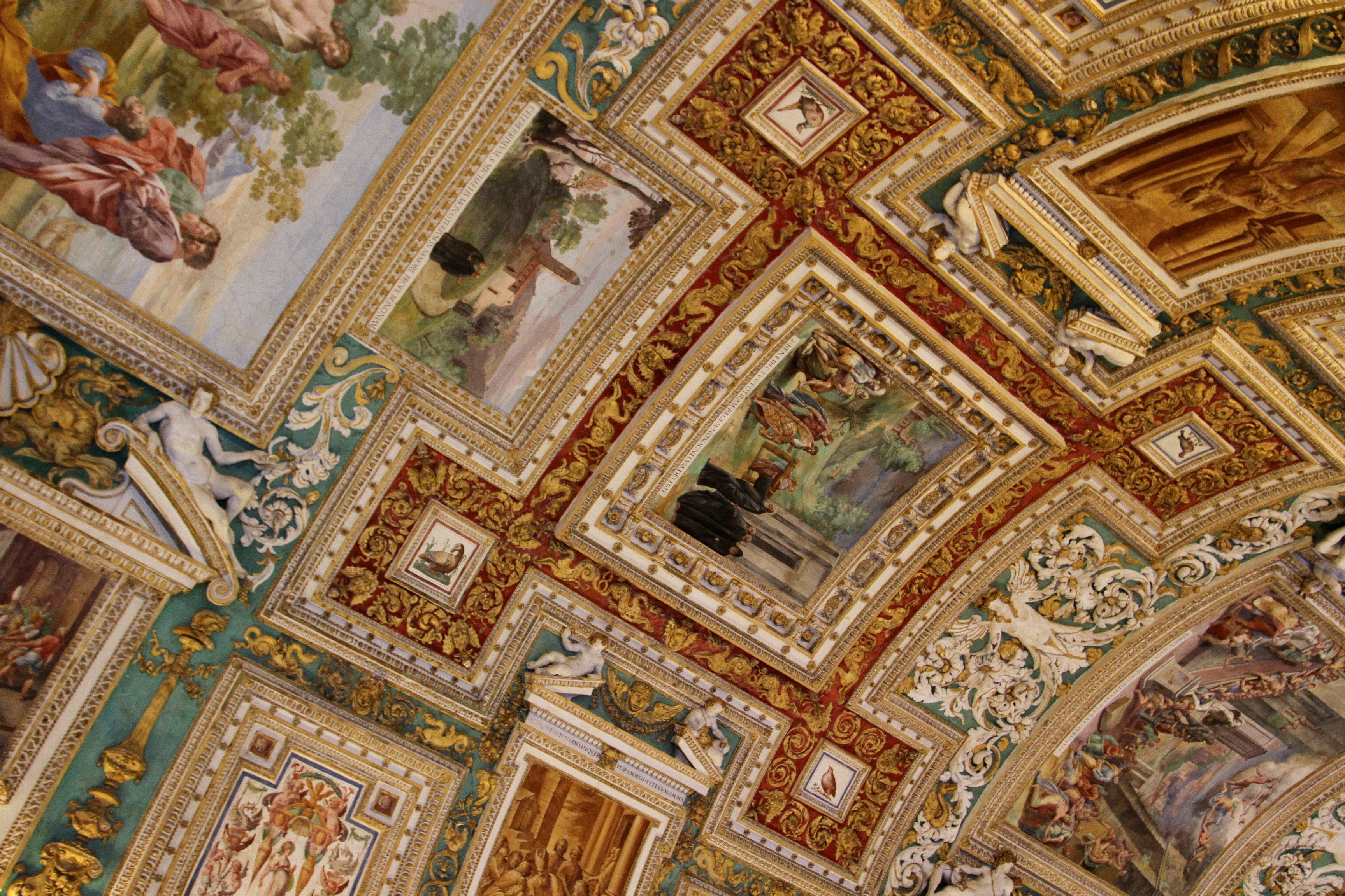 The Map Room Vatican City Rome Italy Notesfromcamelidcountry - Vatican city rome map