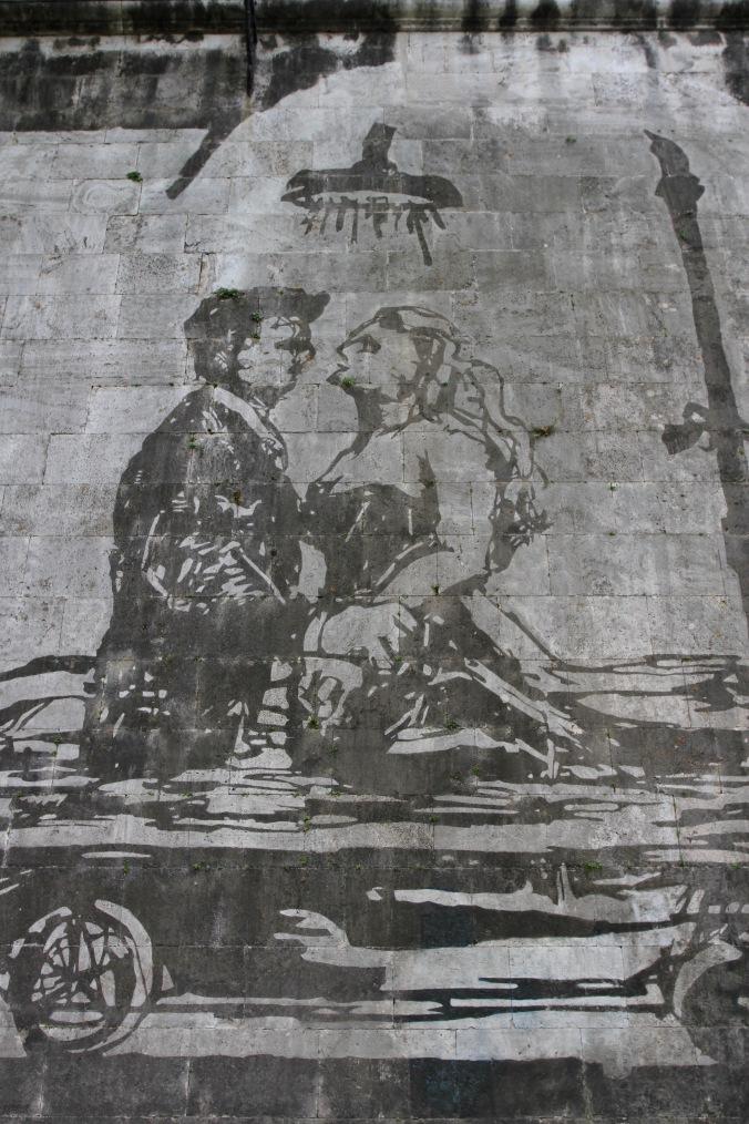 La Dolce Viata, Triumphs and Laments, River Tiber, Rome, Italy