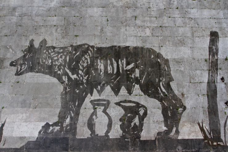 The She-Wold, Romulus and Remus, Symbol of Rome