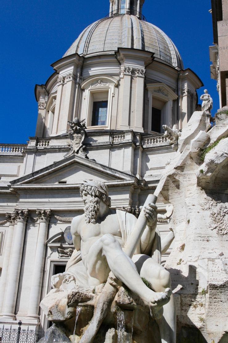 Fontana dei Fiumi, Piazza Navona, Rome, Italy