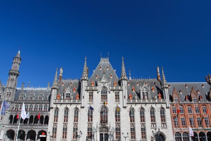 Provinciaal Hof, Markt, Bruges, Belgium