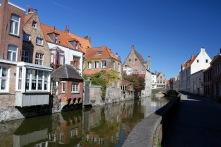 Canals and bridges and cobbled streets, Bruges, Belgium