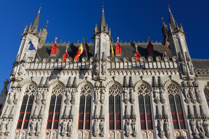 Oude Civiele Griffie, Burg, Bruges, Belgium
