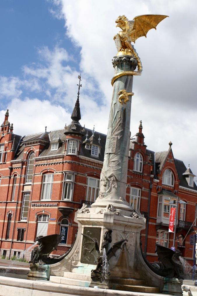 Dragon statue, Den Bosch, Netherlands