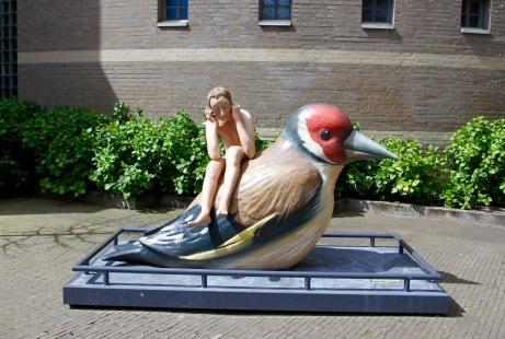 Sculptures from Hieronymus Bosch paintings, Den Bosch, Netherlands