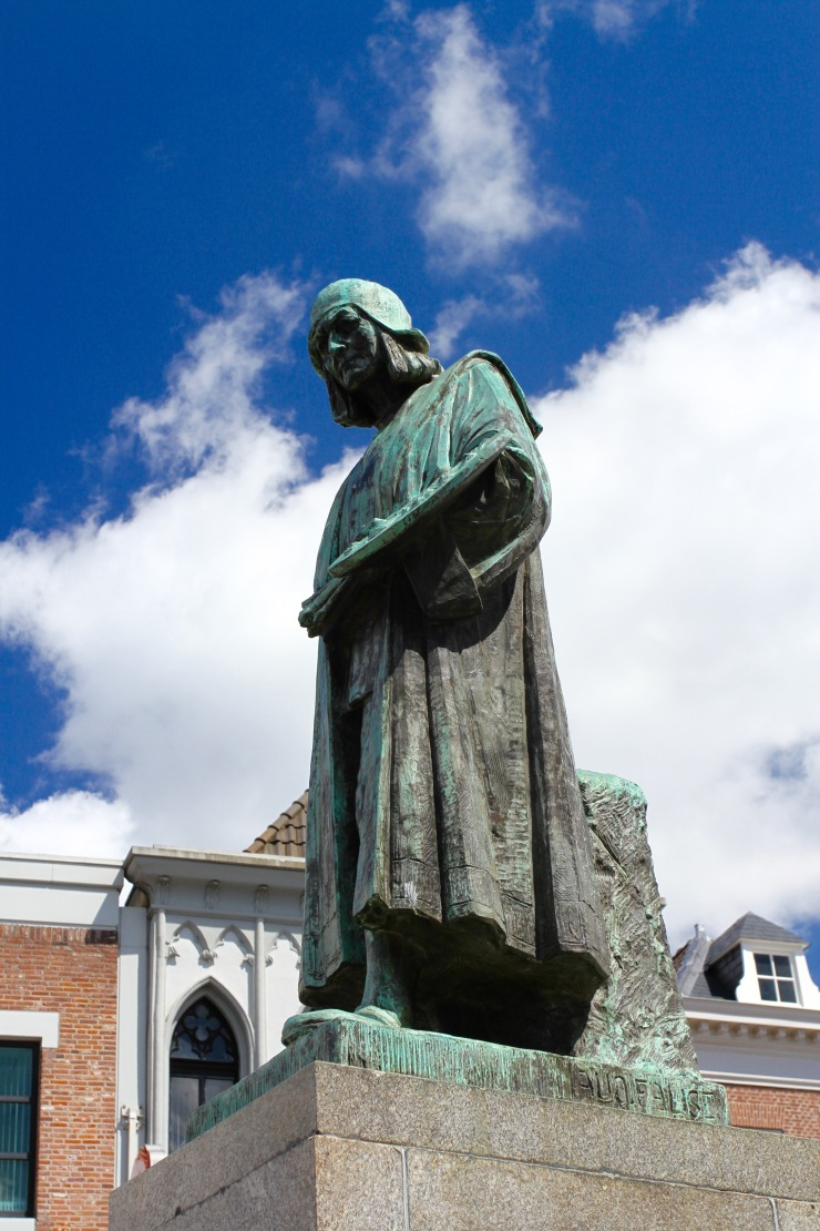 Statue of Hieronymus Bosch, Den Bosch, Netherlands