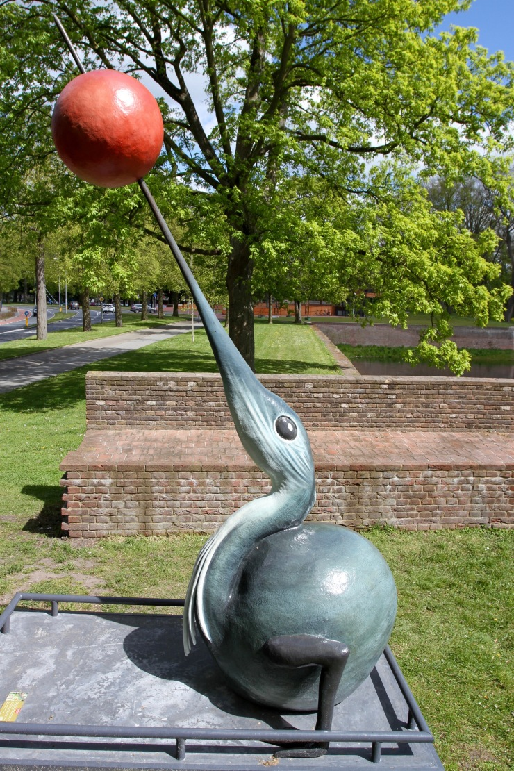 Sculptures from Hieronymus Bosch paintings, Den Bosch, Netherlands
