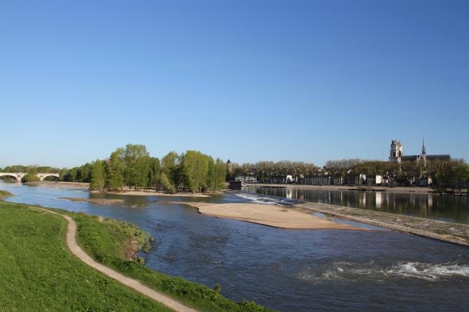 Loire River, Orléans, France