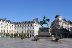 Statue of Joan of Arc, Place du Martroi, Orléans, France