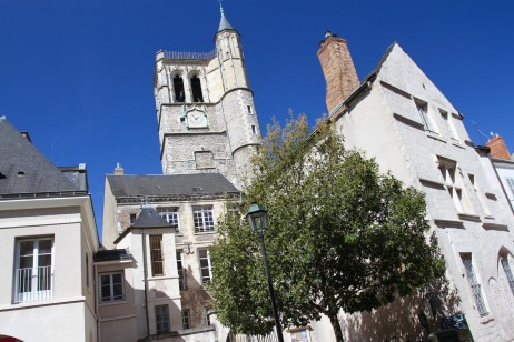 Historic centre of Orléans, France