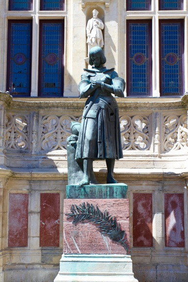Statue of Joan of Arc, Orléans, France
