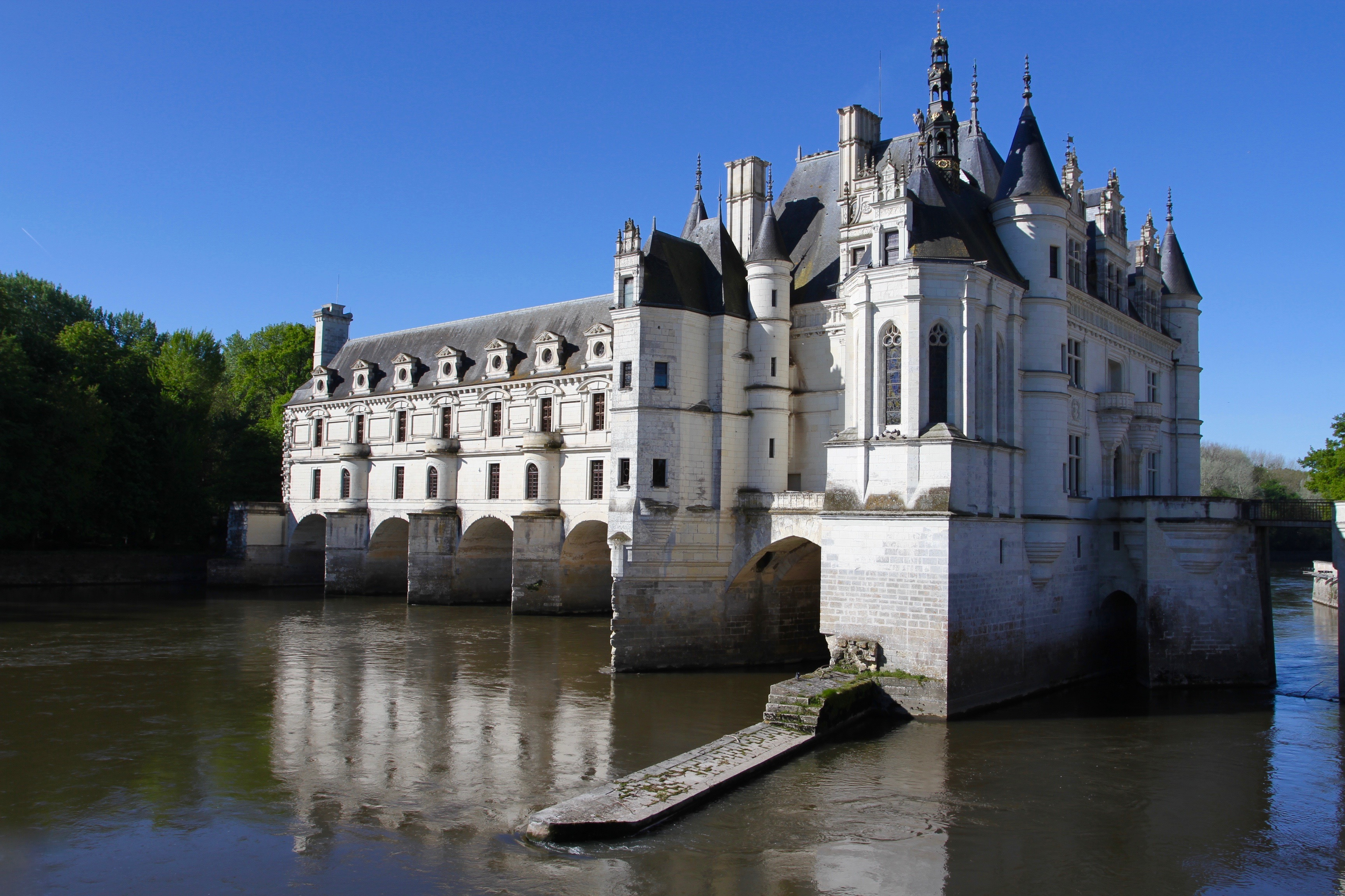 ch teau de chenonceau the castle of the six ladies. Black Bedroom Furniture Sets. Home Design Ideas