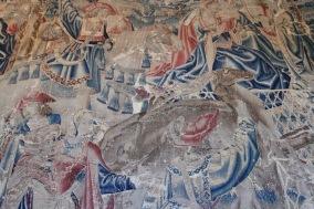 Tapestries, Château de Chenonceau, Loire Valley, France