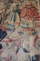 Bed, Château de Chenonceau, Loire Valley, France