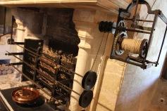 The kitchens, Château de Chenonceau, Loire Valley, France