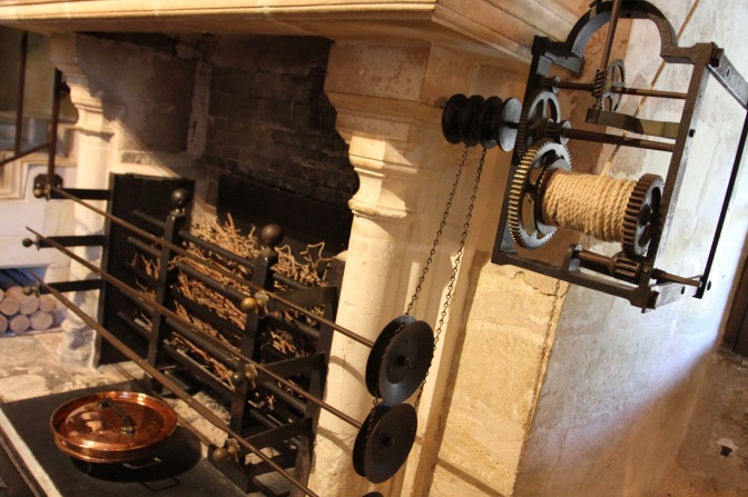 The kitchens, Château de Chenonceau, Loire Valley, France