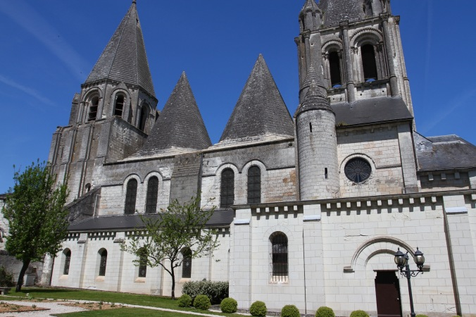 Church of St. Ours, Loches, France