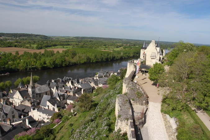 Château de Chinon, Loire Valley, France