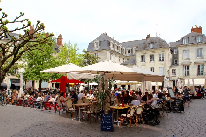 Place Plumereau, Tours, France