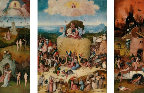 The Hay Wain by Hieronymus Bosch