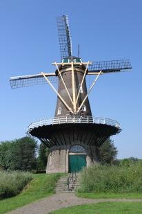 Windmill, Gorichem, Netherlands