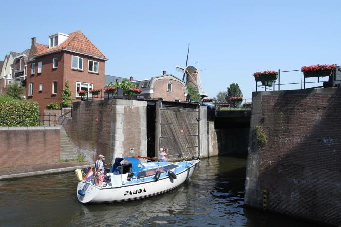 Old harbour, Gorichem, Netherlands