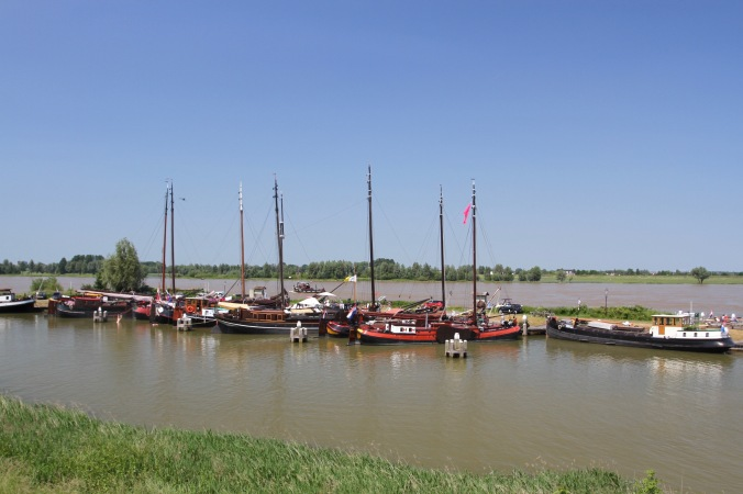 Old Harbour, Woudrichem, Netherlands