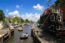 A summer's day in Amsterdam, Netherlands