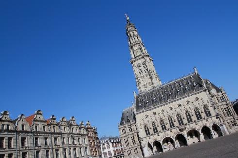 Town Hall and Belfry, Place des Héros, Arras, France