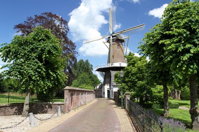 Cycling the River Vecht, Loenen aan de Vecht, Netherlands