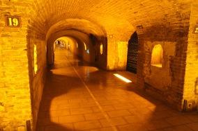 Cellars at Moët & Chandon, Epernay, France