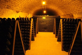 Cellars at Moët & Chandon, Epernay, France
