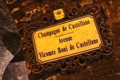 Cellars at Champagne de Castellane, Epernay, France