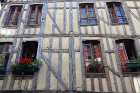 Medieval wood-framed houses, Troyes, France