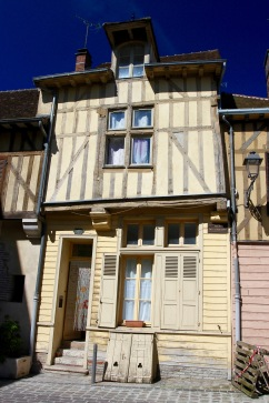 Medieval wood-framed houses, Troyes, France