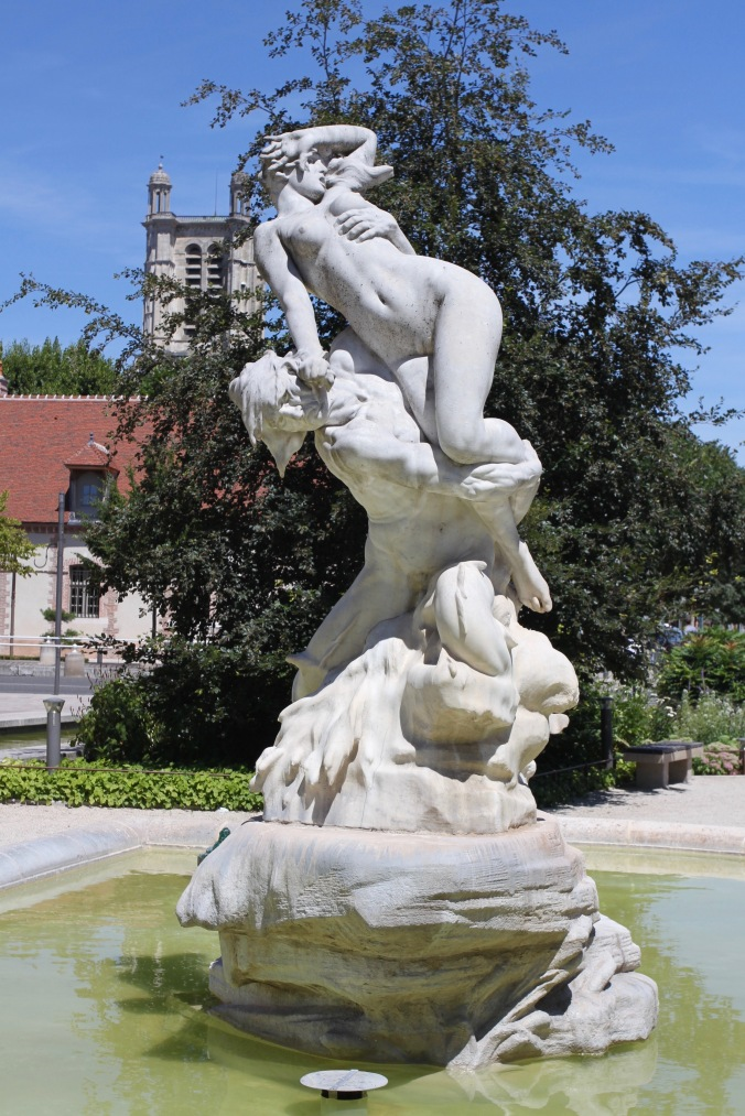 Sculpture, Troyes, Champagne, France
