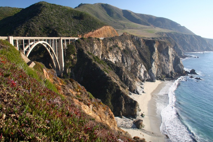 Bixby Creek Bridge, Big Sur National Park, California, USA