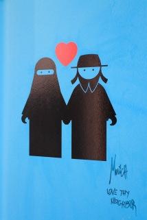 Street art, Marconiplein, Rotterdam, Netherlands