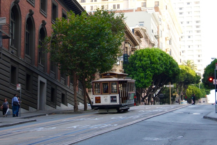 Street car, San Francisco, California, United States