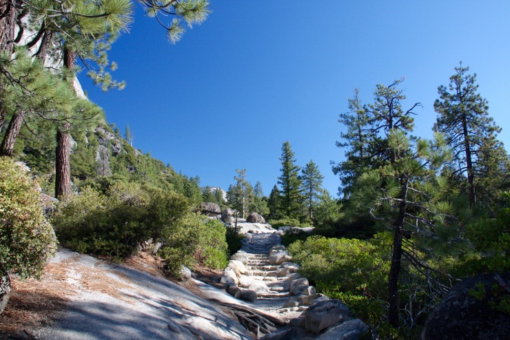 The John Muir trail, Yosemite National Park, California, United States