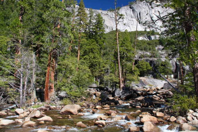 Merced River, Mist Trail, Yosemite National Park, California, United States